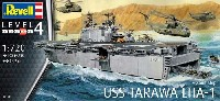 レベル1/720 艦船モデルUSS 強襲揚陸艦 タラワ LHA-1