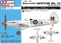 AZ model1/72 エアクラフト プラモデルスーパーマリン スピットファイア Mk.22 ポストウォー