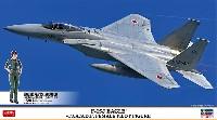 F-15J イーグル w/JASDF 女性パイロットフィギュア