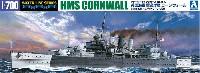 アオシマ1/700 ウォーターラインシリーズ英国海軍 重巡洋艦 コーンウォール