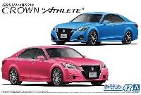アオシマ1/24 ザ・モデルカートヨタ GRS214/AWS210 クラウン アスリートG '15