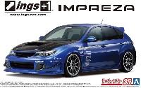 アオシマ1/24 ザ・チューンドカーings GRB インプレッサ WRX STI '07 (スバル)