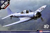 アカデミー1/48 Scale AircraftsUSMC SBD-1 ドーントレス パールハーバー
