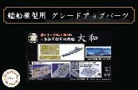 日本海軍 超弩級戦艦 大和 エッチングパーツ w/2ピース 25ミリ機銃