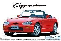アオシマ1/24 ザ・モデルカースズキ EA11R カプチーノ '91