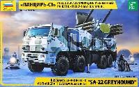 ズベズダ1/35 ミリタリーロシア パーンツィリ-S1/SA-22グレイハウンド 近距離対空防御システム