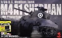 アメリカ中戦車 M4A1 シャーマン 中期型 アドラーズネスト社製 WW2 アメリカ軍アンテナつき
