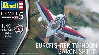 レベル1/48 飛行機モデルユーロファイター タイフーン バロン スピリット