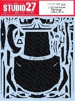 スタジオ27ツーリングカー/GTカー カーボンデカールトヨタ GR スープラ ドレスアップ カーボンデカール