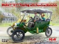 T型フォード 1911 ツーリング w/アメリカン モーターリスト