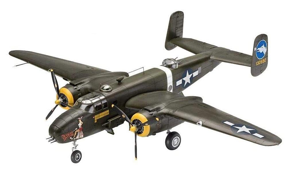 B-25D ミッチェルプラモデル(レベル1/48 飛行機モデルNo.04977)商品画像_2
