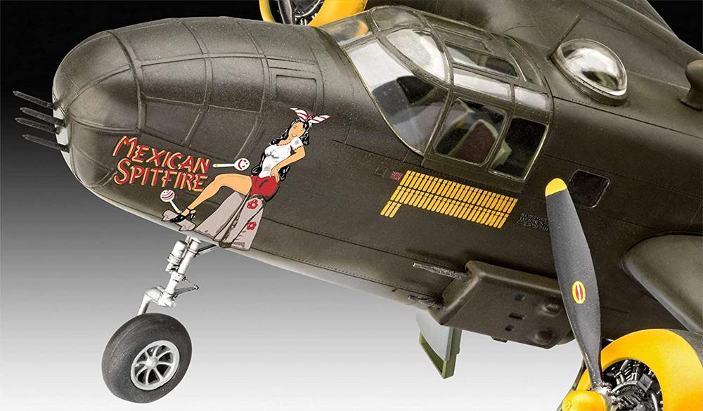 B-25D ミッチェルプラモデル(レベル1/48 飛行機モデルNo.04977)商品画像_3