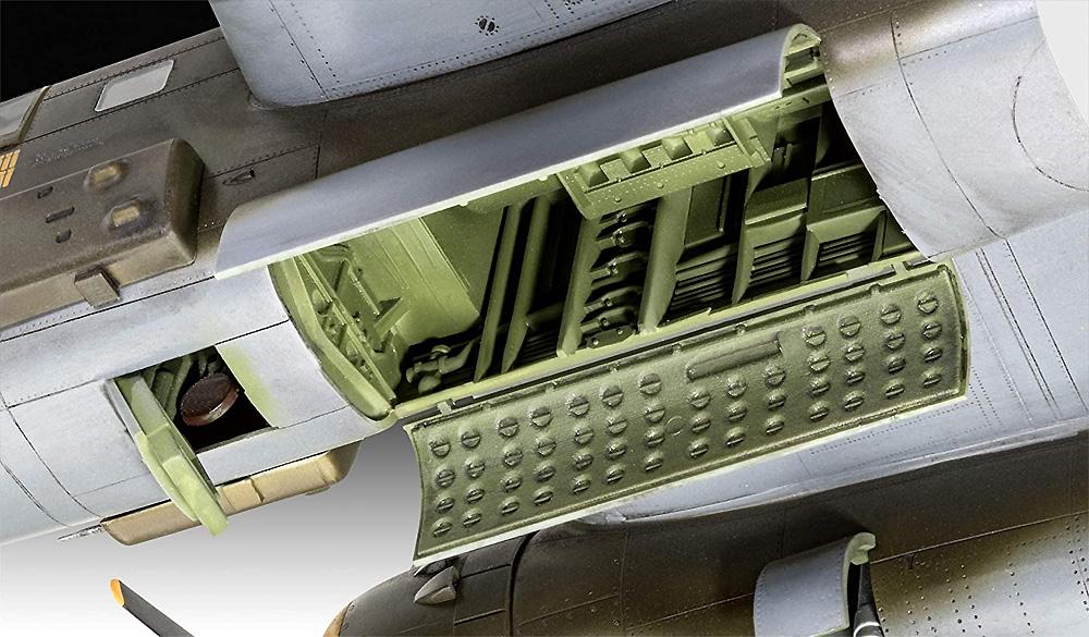 B-25D ミッチェルプラモデル(レベル1/48 飛行機モデルNo.04977)商品画像_4
