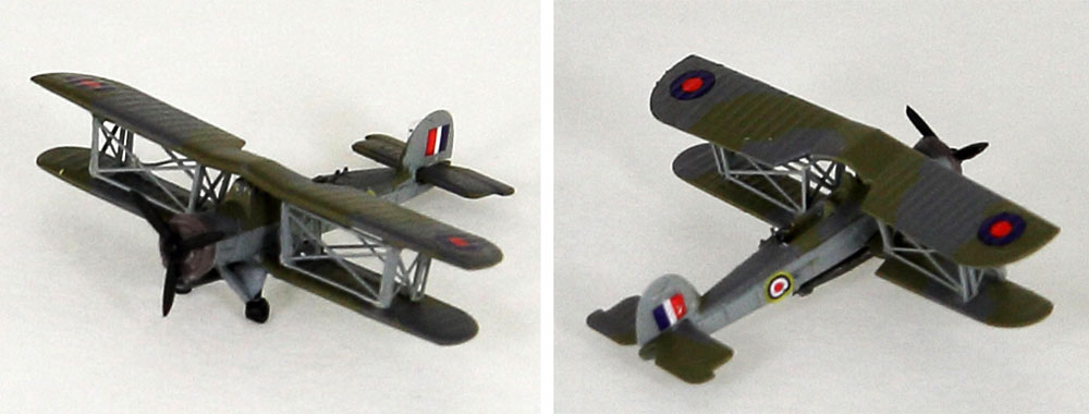 WW2 イギリス空軍機セット 1 ソードフィッシュ雷撃機 4機付き 限定版プラモデル(ピットロードスカイウェーブ S シリーズ (定番外)No.S032SI)商品画像_3