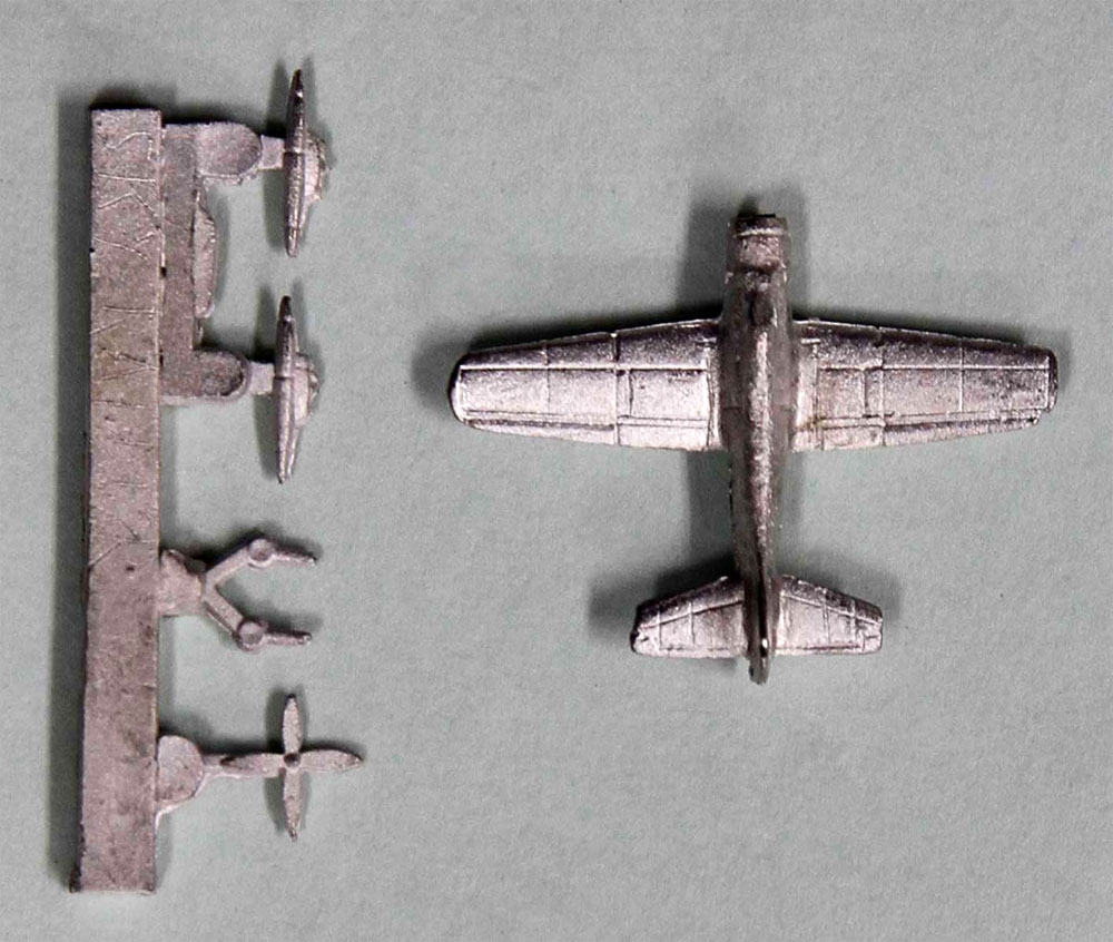 ザ・ウェストウィングス 2 A-1 スカイレイダー 3機付き 限定版プラモデル(ピットロードスカイウェーブ S シリーズ (定番外)No.S052SP)商品画像_2