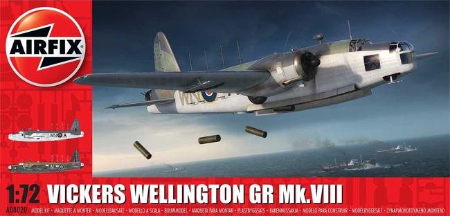 ヴィッカース ウェリントン GR Mk.8プラモデル(エアフィックス1/72 ミリタリーエアクラフトNo.A08020)商品画像