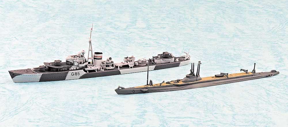 英国海軍 駆逐艦 ジュピター SPプラモデル(アオシマ1/700 ウォーターラインシリーズNo.057650)商品画像_1