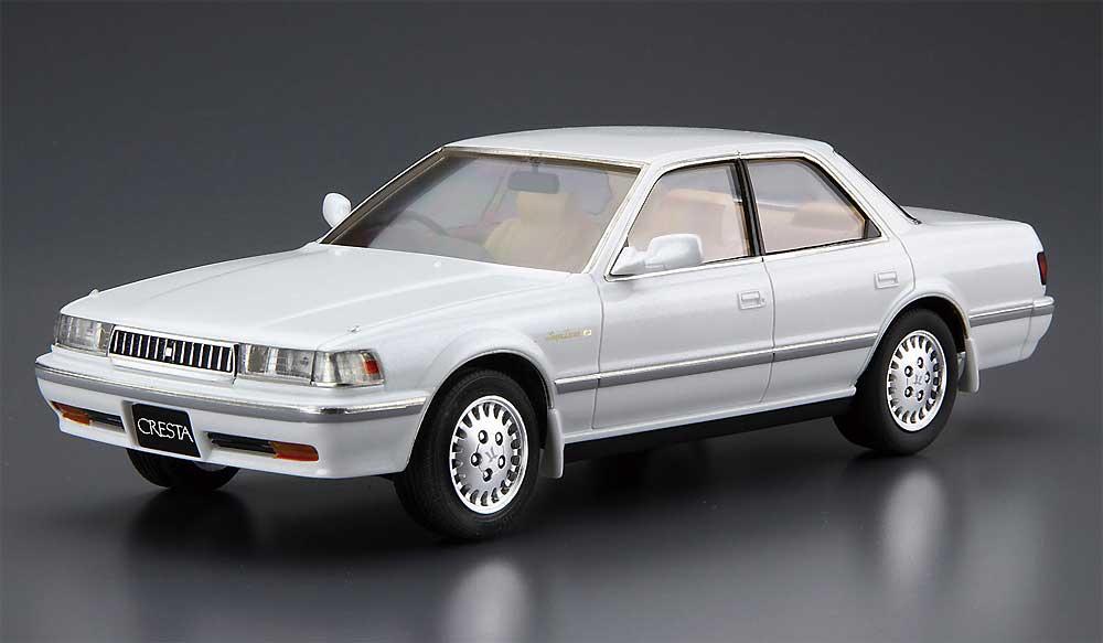 トヨタ JZX81 クレスタ 2.5 スーパールーセントG '90プラモデル(アオシマ1/24 ザ・モデルカーNo.081)商品画像_2