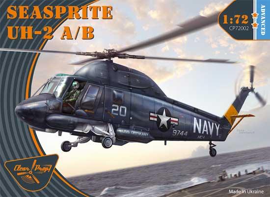 UH-2A/B シースプライトプラモデル(クリアープロップ1/72 スケールモデルNo.CP72002)商品画像