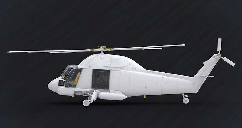 UH-2A/B シースプライトプラモデル(クリアープロップ1/72 スケールモデルNo.CP72002)商品画像_3