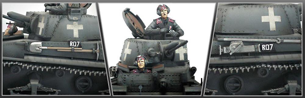 ドイツ 35(t) 指揮戦車プラモデル(アカデミー1/35 ArmorsNo.13313)商品画像_4