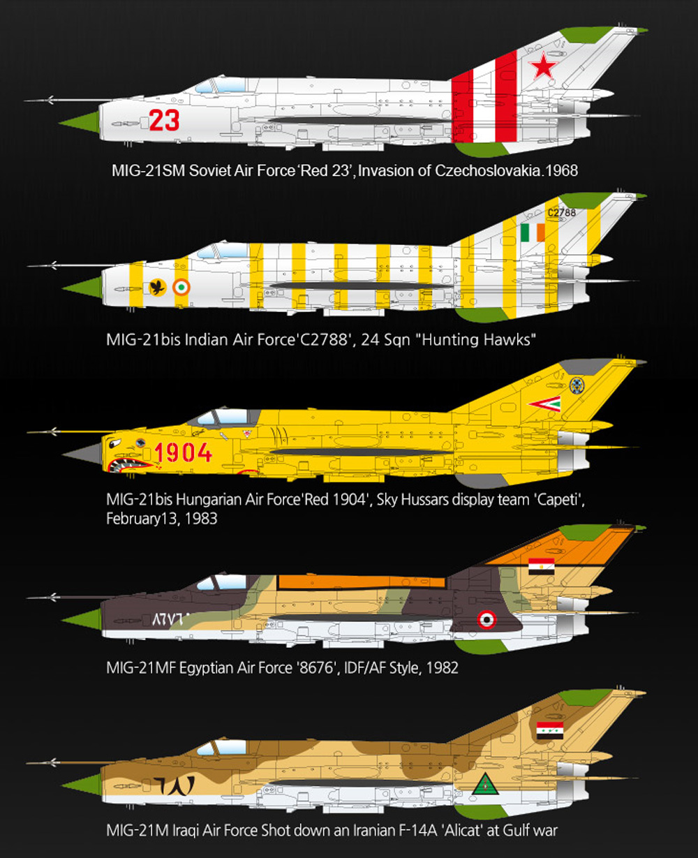 MiG-21MF スペシャルエディションプラモデル(アカデミー1/48 AircraftsNo.12311)商品画像_2