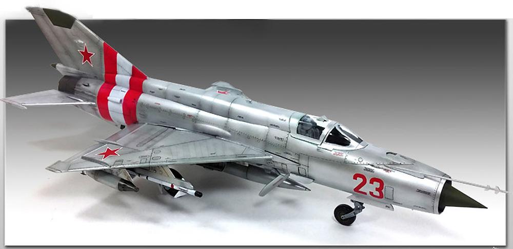MiG-21MF スペシャルエディションプラモデル(アカデミー1/48 AircraftsNo.12311)商品画像_3