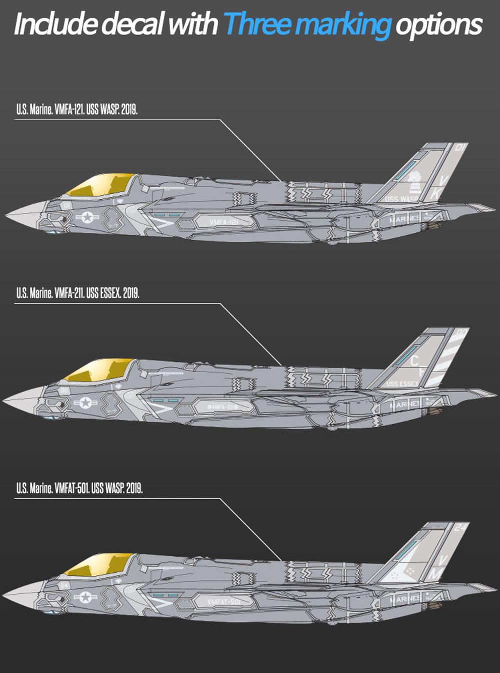 アメリカ海兵隊 F-35B ライトニング 2 VMFA-121 グリーンナイツプラモデル(アカデミー1/72 Scale AircraftsNo.12569)商品画像_1