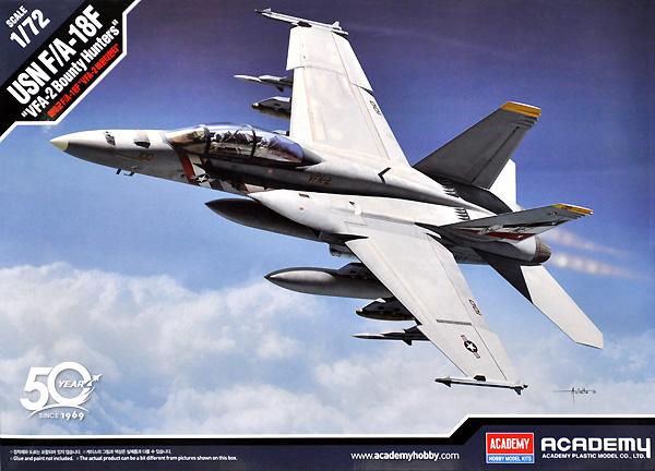 アメリカ海軍 F/A-18F スーパーホーネット VFA-2 バウンティハンターズプラモデル(アカデミー1/72 Scale AircraftsNo.12567)商品画像