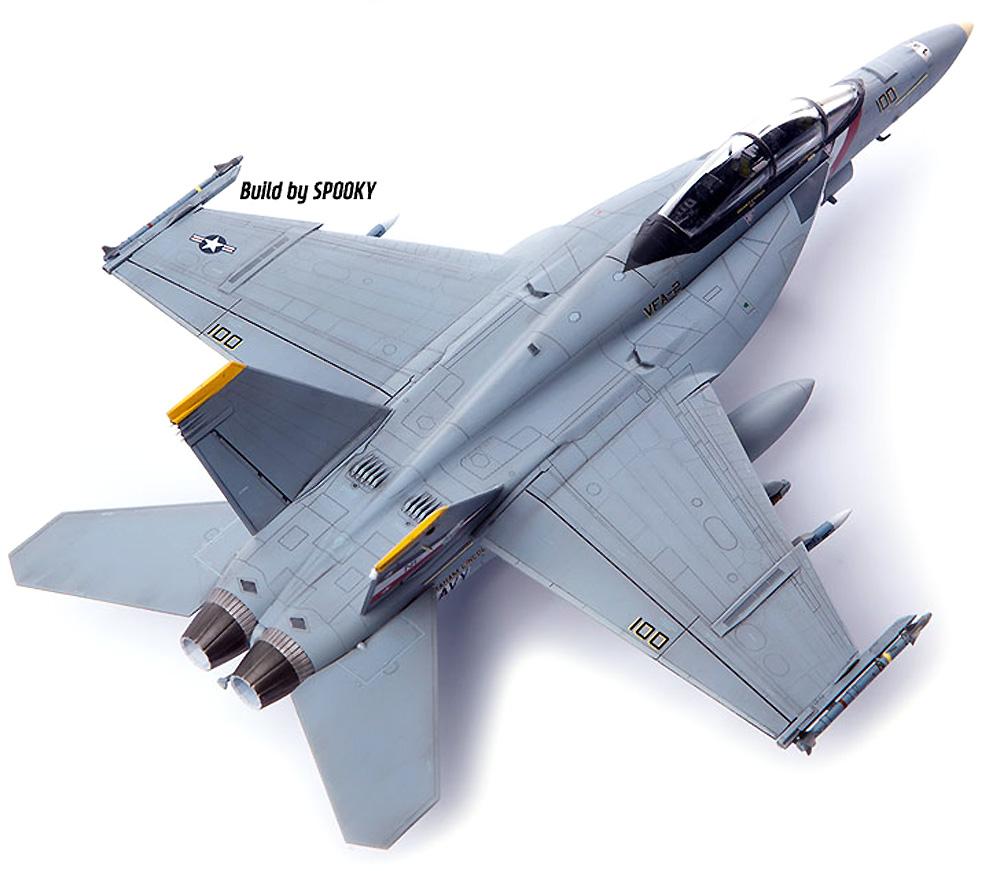 アメリカ海軍 F/A-18F スーパーホーネット VFA-2 バウンティハンターズプラモデル(アカデミー1/72 Scale AircraftsNo.12567)商品画像_2