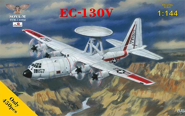 EC-130V ハーキュリーズ 早期警戒機型プラモデル(ソヴァ M1/144 エアクラフトNo.SVM-14002)商品画像