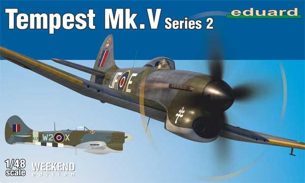 ホーカー テンペスト Mk.5 シリーズ 2プラモデル(エデュアルド1/48 ウィークエンド エディションNo.84170)商品画像