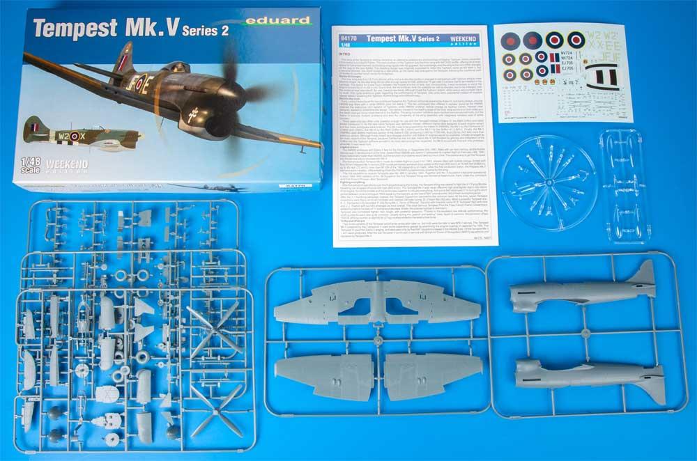 ホーカー テンペスト Mk.5 シリーズ 2プラモデル(エデュアルド1/48 ウィークエンド エディションNo.84170)商品画像_1