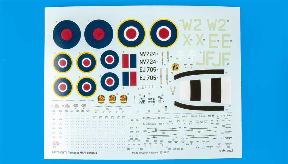 ホーカー テンペスト Mk.5 シリーズ 2プラモデル(エデュアルド1/48 ウィークエンド エディションNo.84170)商品画像_2