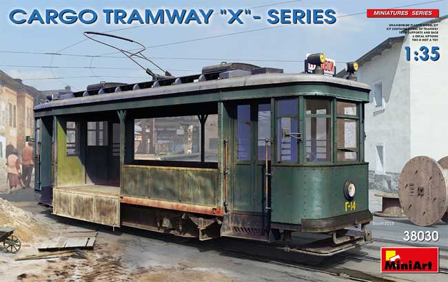 貨物輸送用 路面電車 Xシリーズプラモデル(ミニアート1/35 ミリタリーミニチュアNo.38030)商品画像