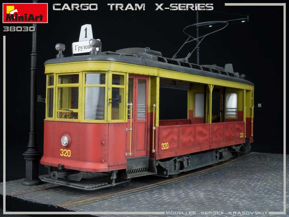 貨物輸送用 路面電車 Xシリーズプラモデル(ミニアート1/35 ミリタリーミニチュアNo.38030)商品画像_1