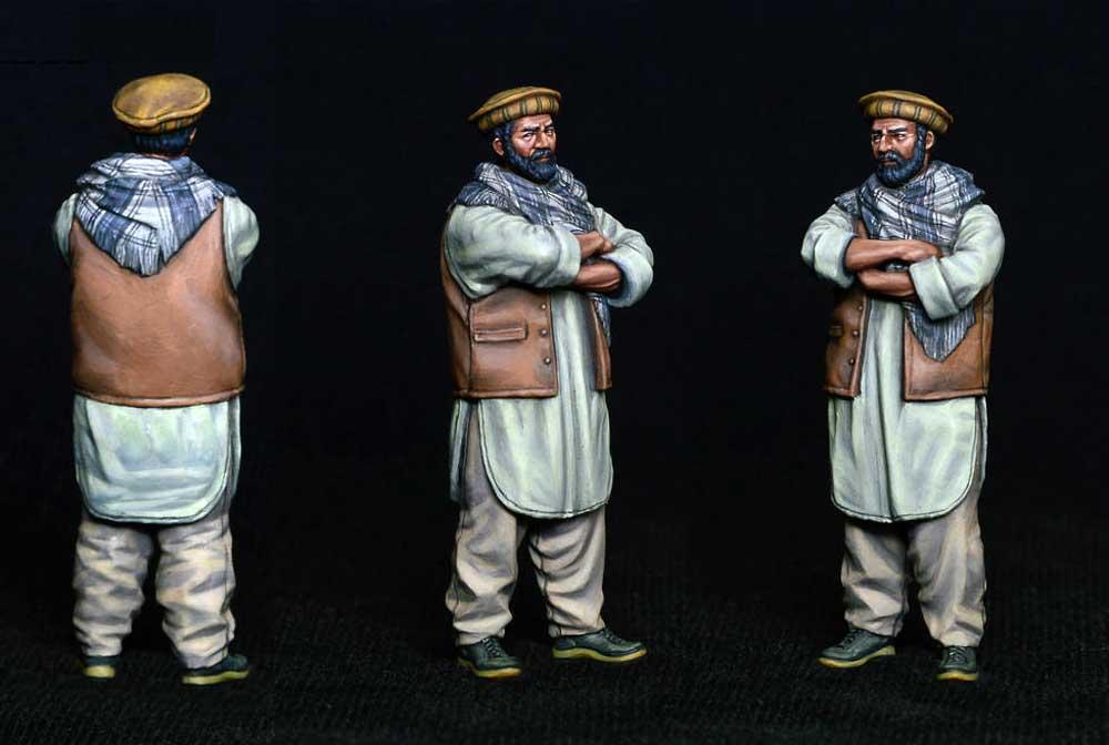 アフガニスタンの市民プラモデル(ミニアート1/35 ミニチュアシリーズNo.38034)商品画像_4
