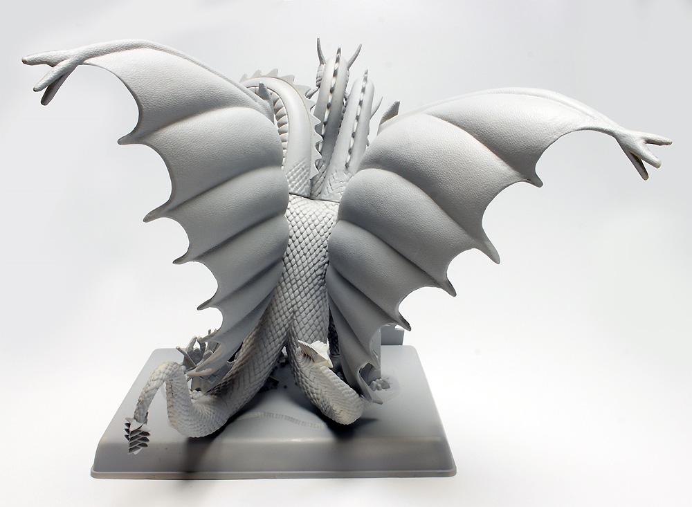 キングギドラプラモデル(ポーラライツプラスチックモデルキットNo.POL962/12)商品画像_4