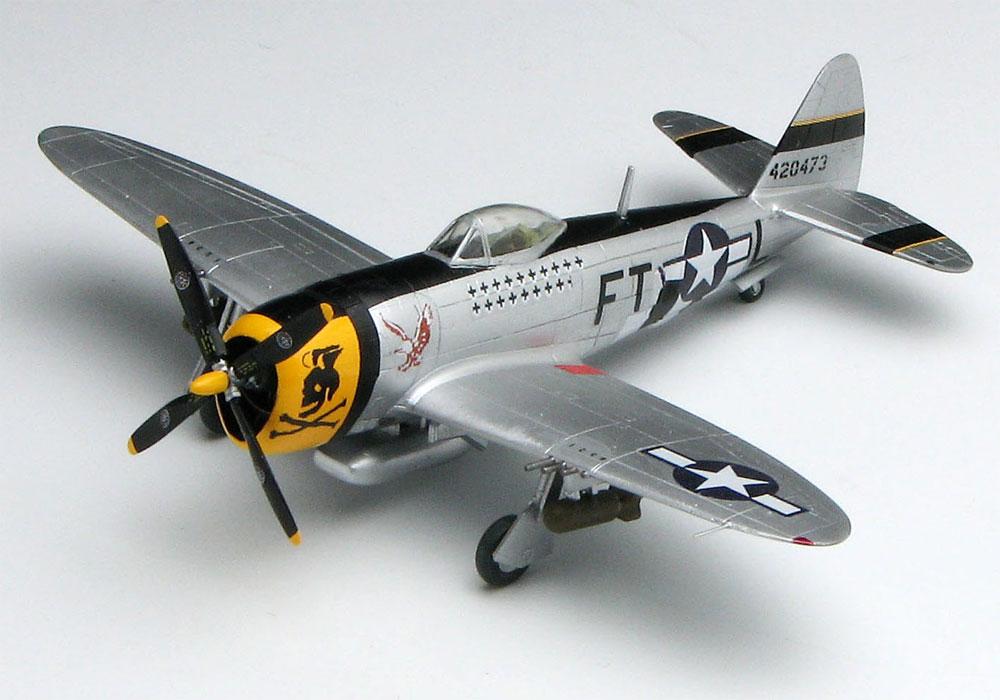 P-47D サンダーボルト バブルトップ イーグルストンプラモデル(プラッツ1/144 プラスチックモデルキットNo.PDR-013)商品画像_2