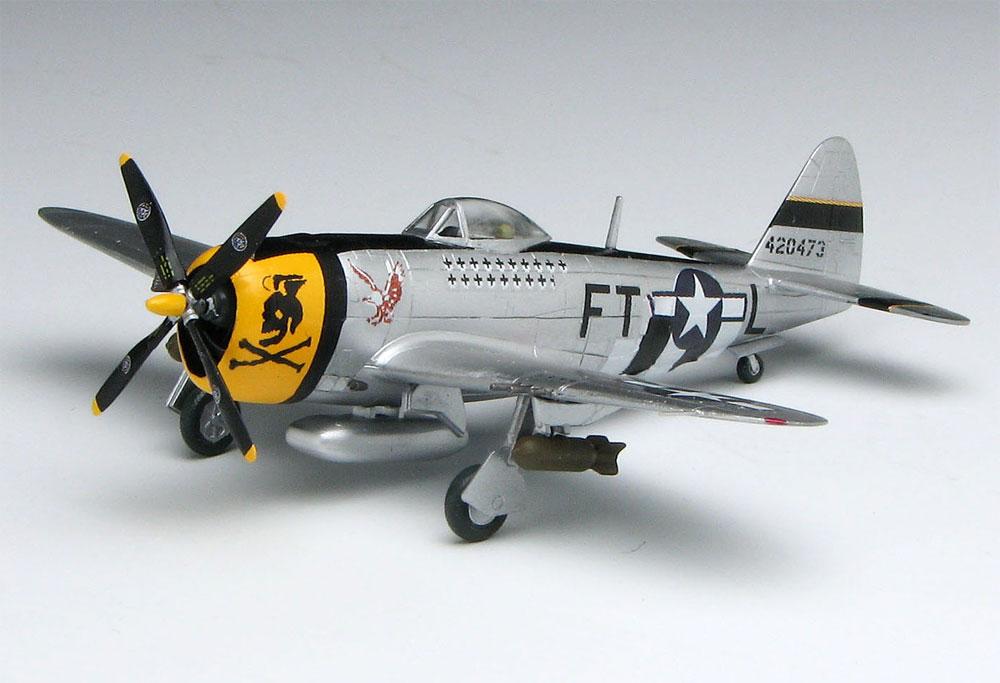 P-47D サンダーボルト バブルトップ イーグルストンプラモデル(プラッツ1/144 プラスチックモデルキットNo.PDR-013)商品画像_3