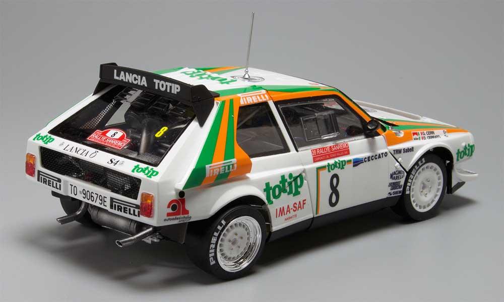 ランチア デルタ S4 '86 サンレモラリープラモデル(NuNu1/24 レーシングシリーズNo.PN24005)商品画像_3