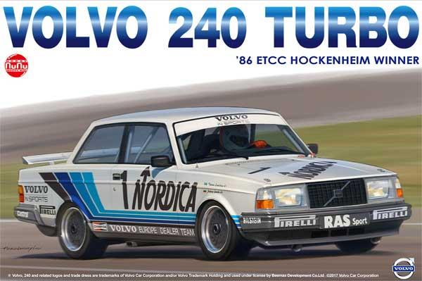 ボルボ 240 ターボ 1986 ETCC ホッケンハイム ウィナープラモデル(NuNu1/24 レーシングシリーズNo.PN24013)商品画像