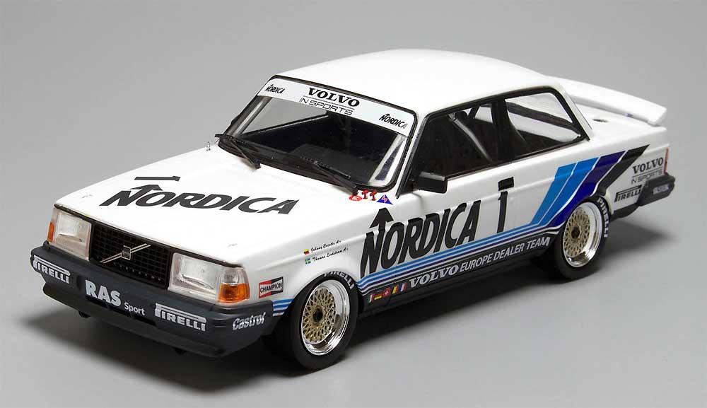 ボルボ 240 ターボ 1986 ETCC ホッケンハイム ウィナープラモデル(NuNu1/24 レーシングシリーズNo.PN24013)商品画像_2