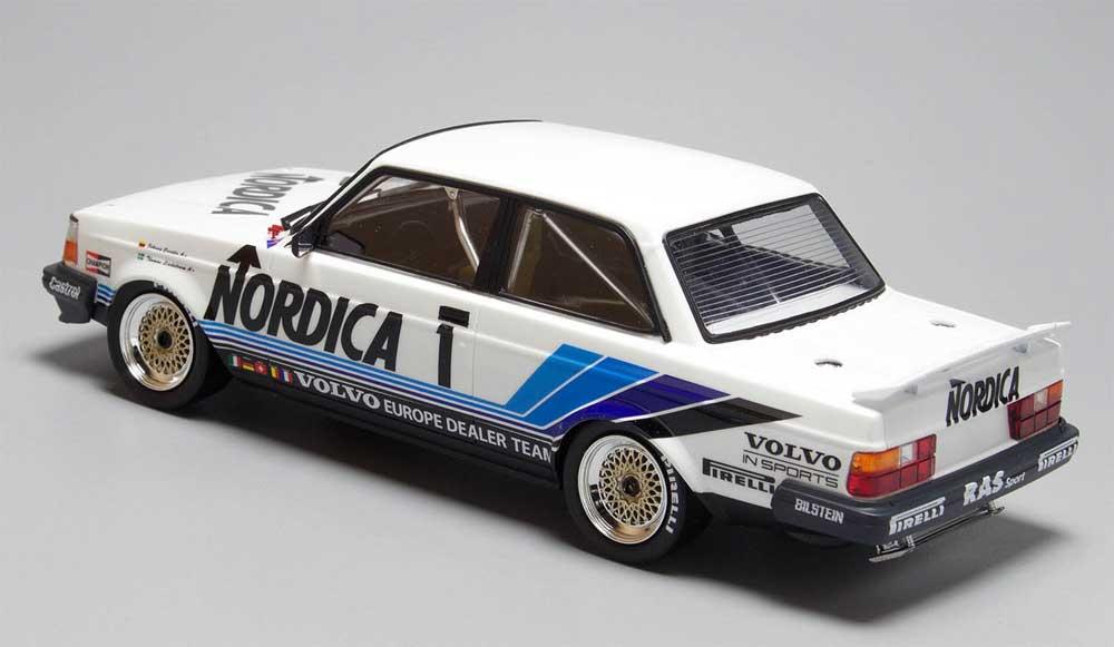 ボルボ 240 ターボ 1986 ETCC ホッケンハイム ウィナープラモデル(NuNu1/24 レーシングシリーズNo.PN24013)商品画像_3