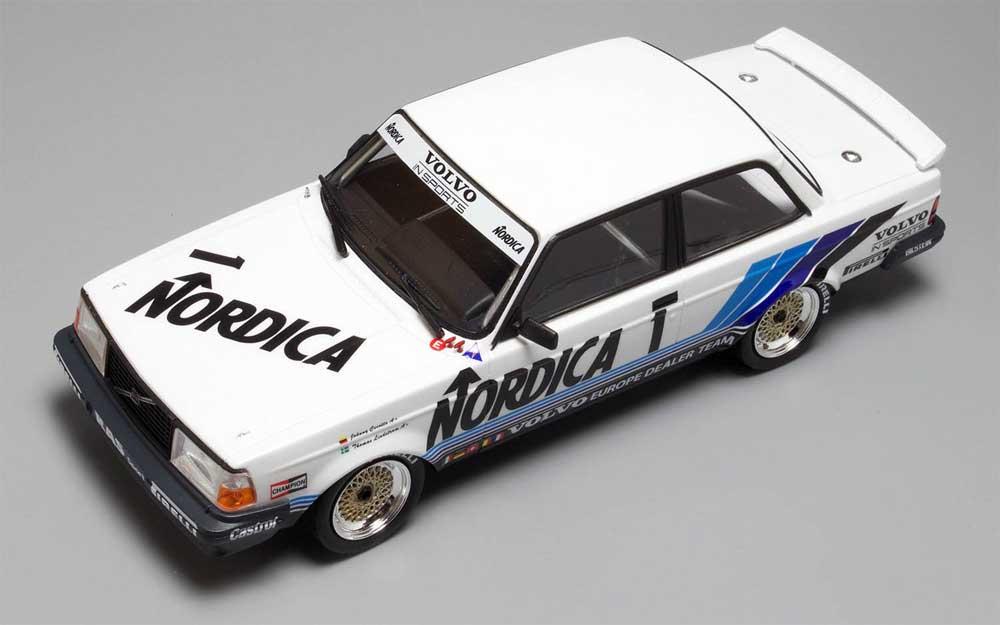 ボルボ 240 ターボ 1986 ETCC ホッケンハイム ウィナープラモデル(NuNu1/24 レーシングシリーズNo.PN24013)商品画像_4