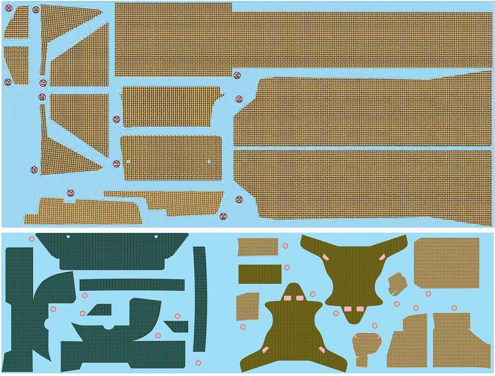 ランチア デルタ S4 '86 サンレモラリー用 ディテールアップパーツエッチング(NuNuディテールアップパーツシリーズNo.NE24007)商品画像_2