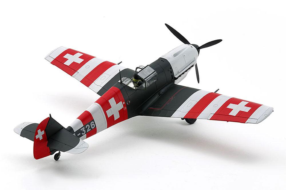 メッサーシュミット Bf109E-3 スイス空軍プラモデル(タミヤ1/48 飛行機 スケール限定品No.25200)商品画像_2