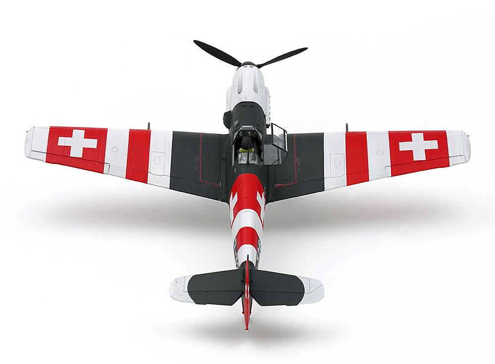 メッサーシュミット Bf109E-3 スイス空軍プラモデル(タミヤ1/48 飛行機 スケール限定品No.25200)商品画像_3