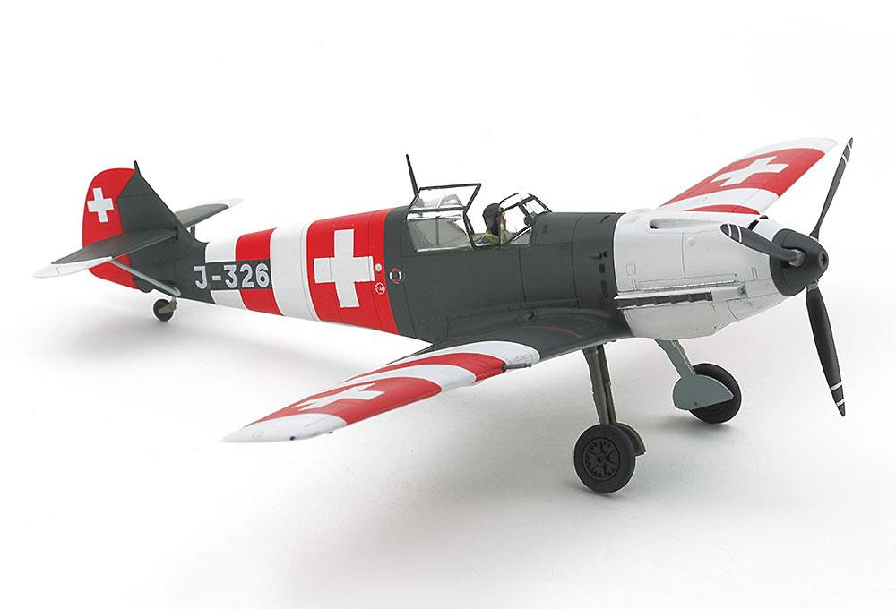 メッサーシュミット Bf109E-3 スイス空軍プラモデル(タミヤ1/48 飛行機 スケール限定品No.25200)商品画像_4