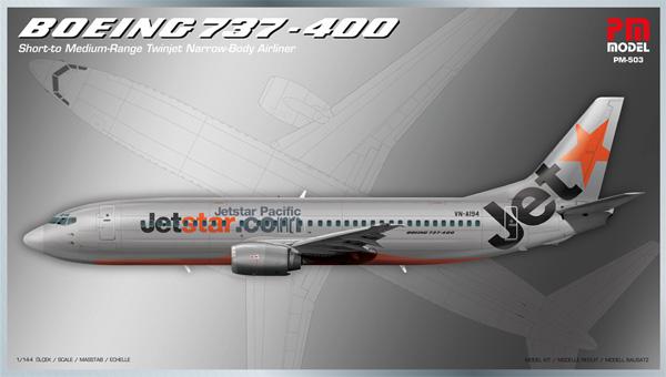 ボーイング 737-400プラモデル(PM MODEL1/48 エアクラフトNo.PM-503)商品画像